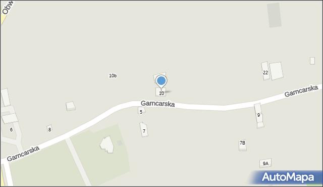 Dobczyce, Garncarska, 10, mapa Dobczyce