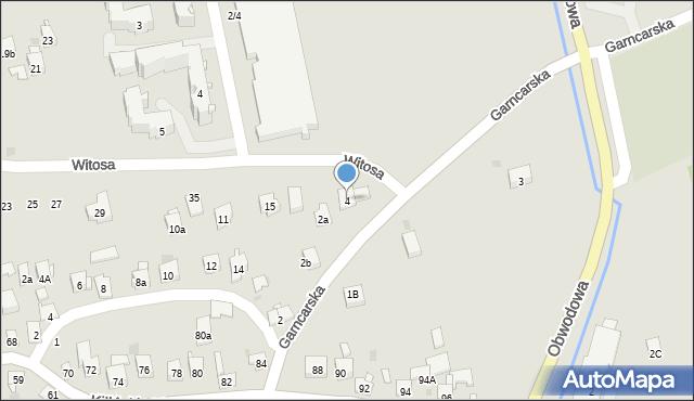 Dobczyce, Garncarska, 4, mapa Dobczyce