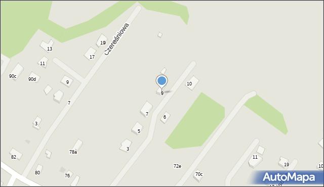 Grudziądz, Gajowa, 9, mapa Grudziądza