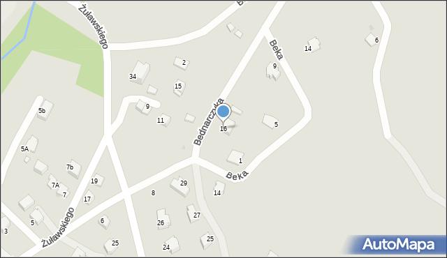 Limanowa, Gawrona Walentego, 16, mapa Limanowa
