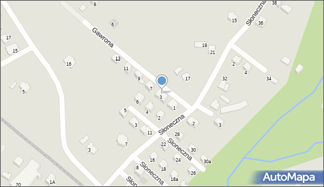 Limanowa, Gawrona Walentego, 5, mapa Limanowa