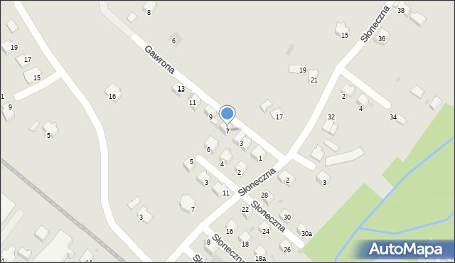 Limanowa, Gawrona Walentego, 7, mapa Limanowa