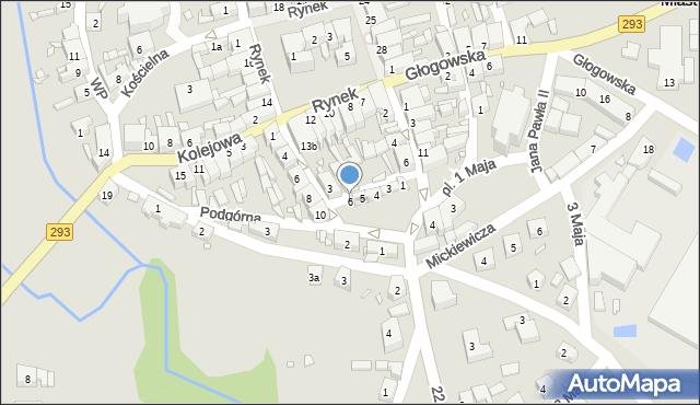 Nowe Miasteczko, Garncarska, 6, mapa Nowe Miasteczko