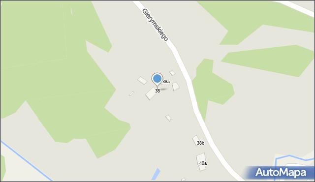 Grudziądz, Gierymskiego Aleksandra, 38, mapa Grudziądza