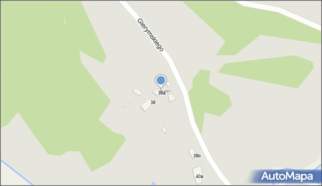 Grudziądz, Gierymskiego Aleksandra, 38a, mapa Grudziądza