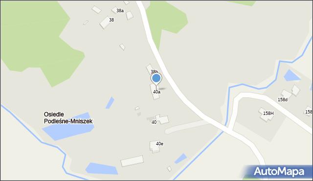 Grudziądz, Gierymskiego Aleksandra, 40a, mapa Grudziądza