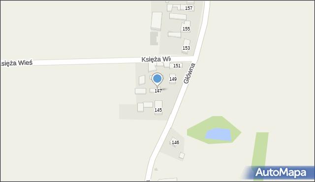Czarnocin, Główna, 147, mapa Czarnocin
