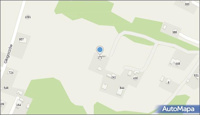 Głogoczów, Głogoczów, 171, mapa Głogoczów