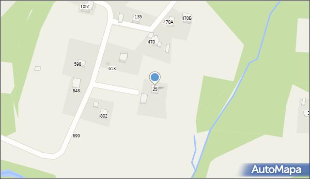 Głogoczów, Głogoczów, 25, mapa Głogoczów