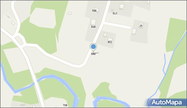 Głogoczów, Głogoczów, 699, mapa Głogoczów
