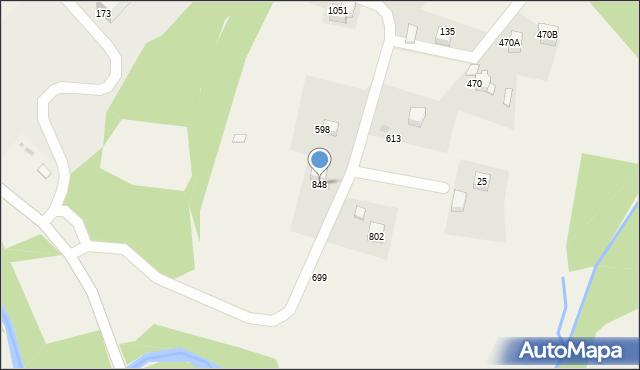 Głogoczów, Głogoczów, 848, mapa Głogoczów