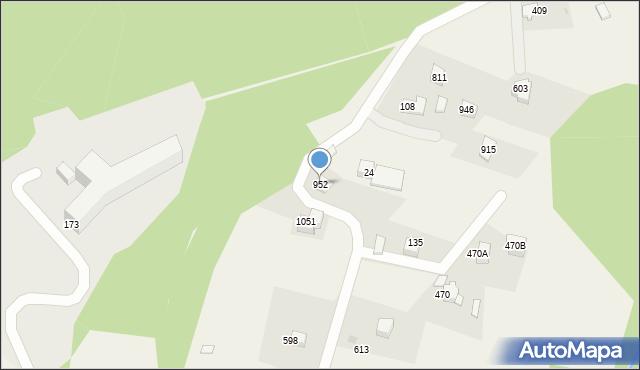 Głogoczów, Głogoczów, 952, mapa Głogoczów