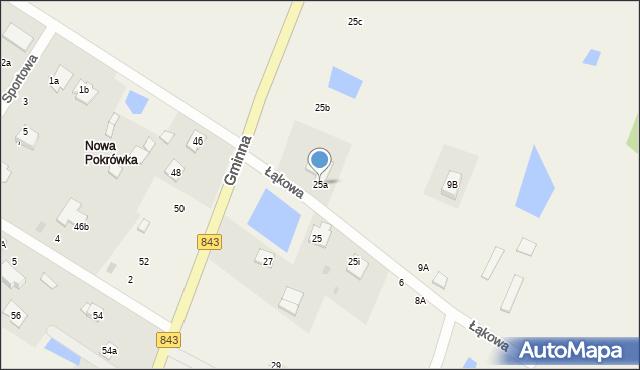 Pokrówka, Gminna, 25a, mapa Pokrówka