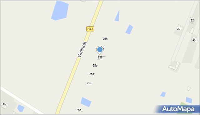 Pokrówka, Gminna, 25f, mapa Pokrówka
