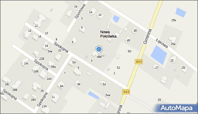 Pokrówka, Gminna, 46b, mapa Pokrówka