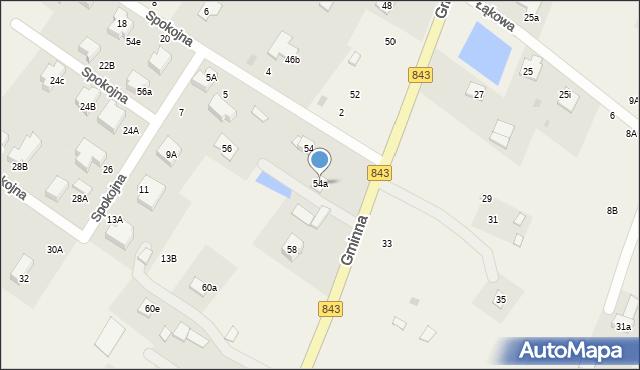 Pokrówka, Gminna, 54a, mapa Pokrówka