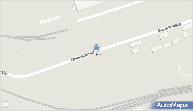 Warszawa, Gniewkowska, 7, mapa Warszawy