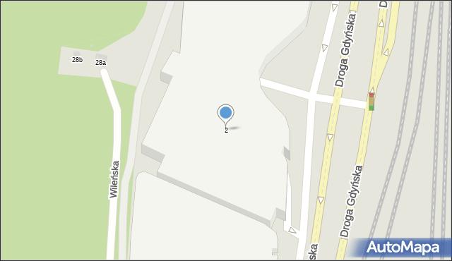 Gdynia, Górskiego Kazimierza, 2, mapa Gdyni