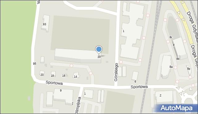 Gdynia, Górskiego Kazimierza, 25, mapa Gdyni