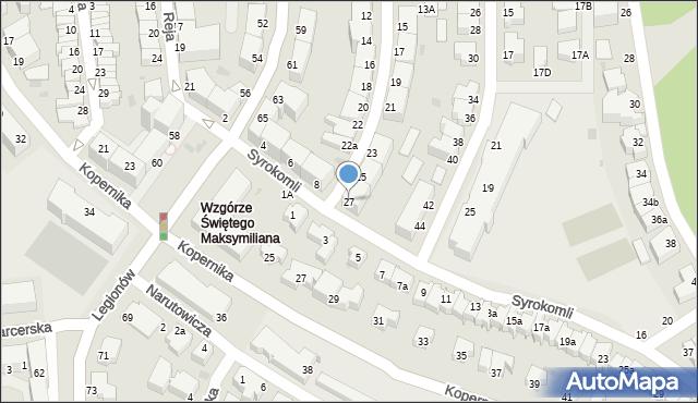 Gdynia, Górna, 27, mapa Gdyni
