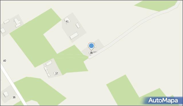 Górna Owczarnia, Górna Owczarnia, 38, mapa Górna Owczarnia