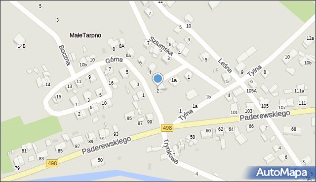 Grudziądz, Górna, 2, mapa Grudziądza