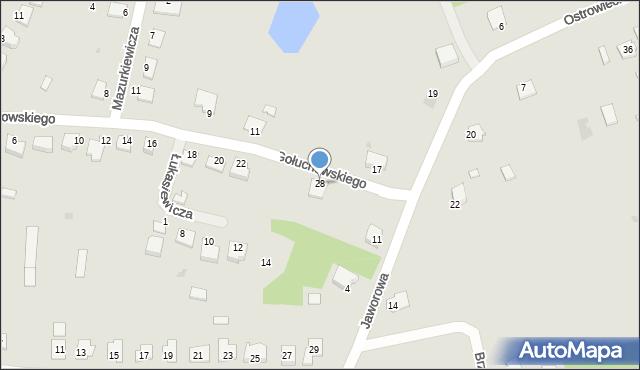 Lubaczów, Gołuchowskiego Agenora, 28, mapa Lubaczów