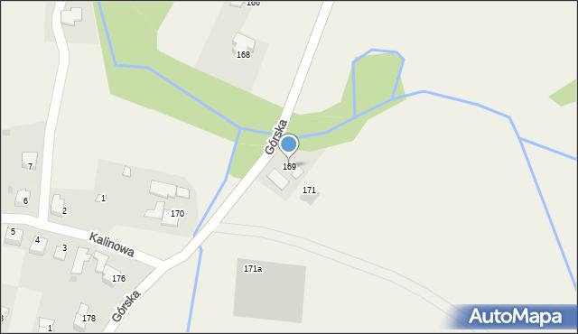 Wieprz, Górska, 169, mapa Wieprz