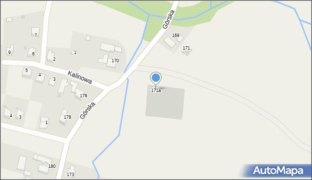 Wieprz, Górska, 171a, mapa Wieprz