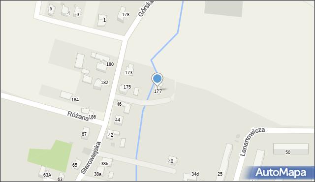Wieprz, Górska, 177, mapa Wieprz