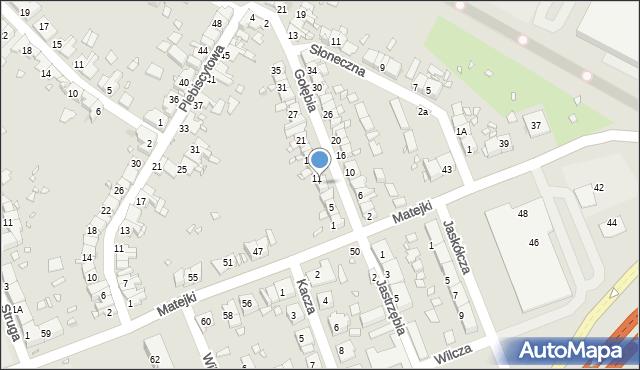 Zabrze, Gołębia, 9, mapa Zabrza