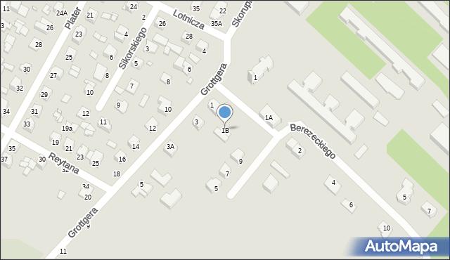 Chełm, Grottgera Artura, 1B, mapa Chełma