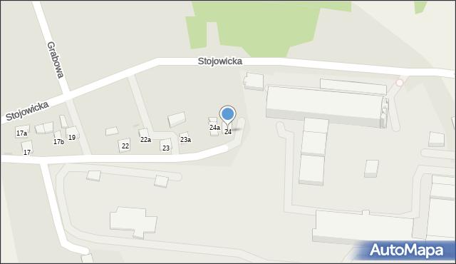 Dobczyce, Grabowa, 24, mapa Dobczyce