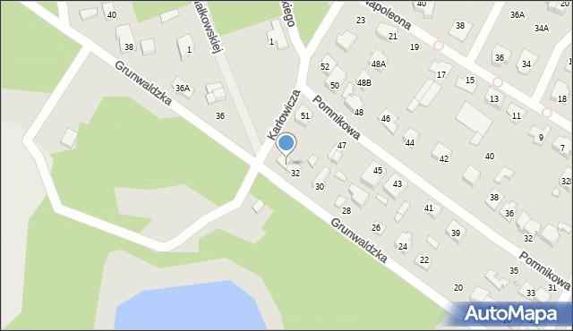 Marki, Grunwaldzka, 34, mapa Marki