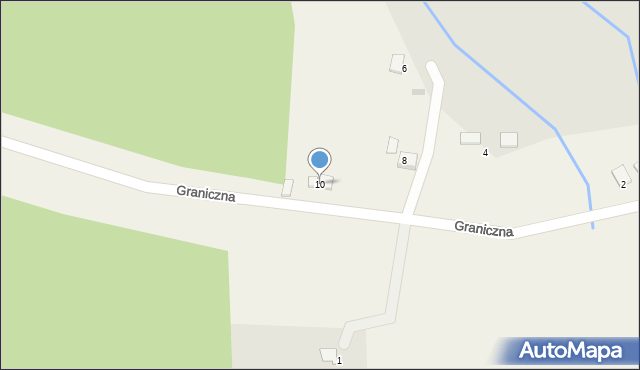 Przeciszów, Graniczna, 10, mapa Przeciszów