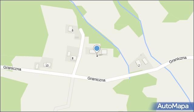 Przeciszów, Graniczna, 4, mapa Przeciszów