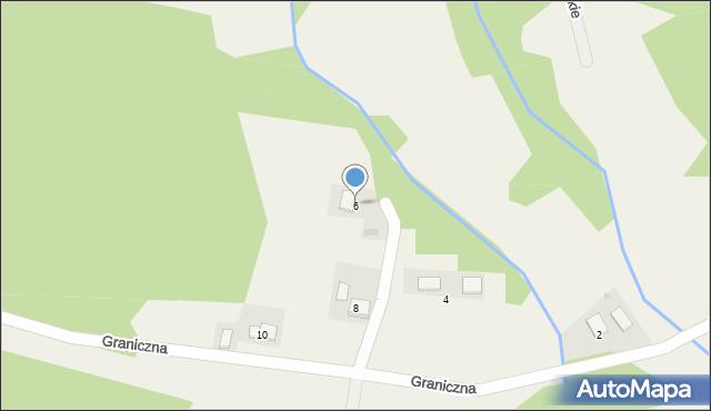 Przeciszów, Graniczna, 6, mapa Przeciszów