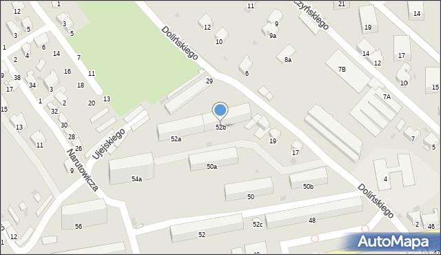 Przemyśl, Grunwaldzka, 52b, mapa Przemyśla