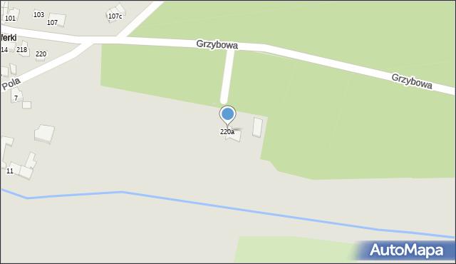 Tarnowskie Góry, Grzybowa, 220a, mapa Tarnowskie Góry