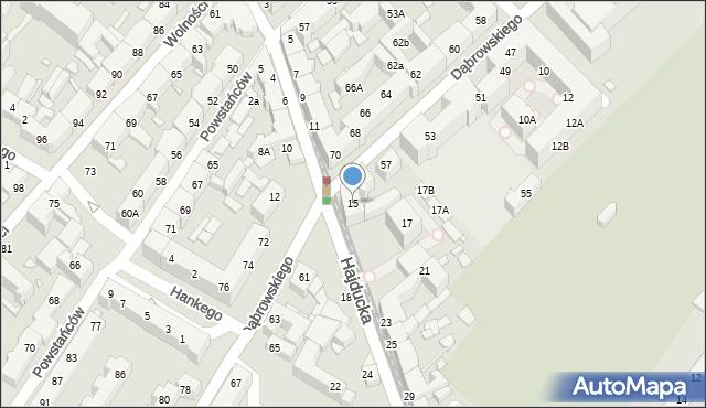 Chorzów, Hajducka, 15, mapa Chorzów