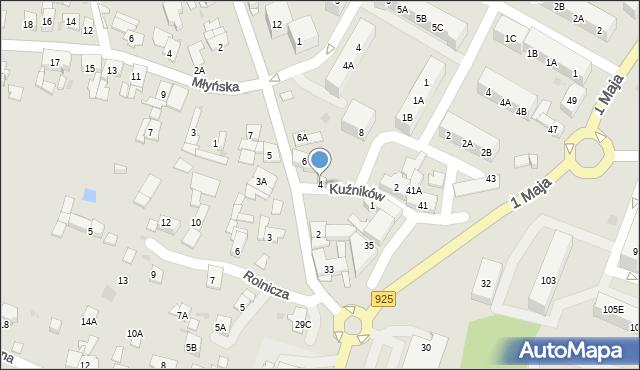 Ruda Śląska, Halembska, 4, mapa Rudy Śląskiej
