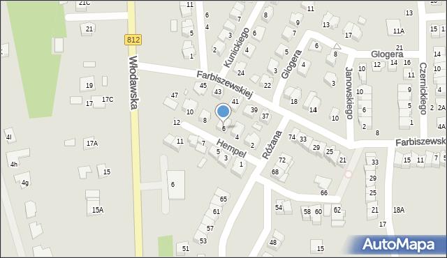 Chełm, Hempel Marii, 6, mapa Chełma