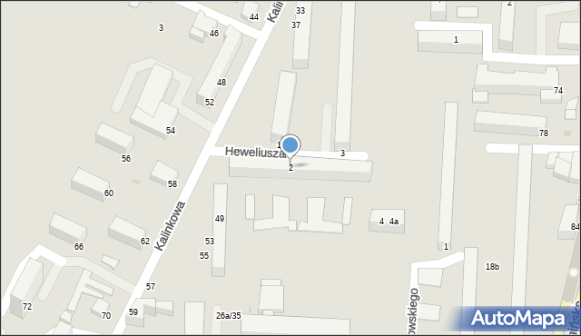 Grudziądz, Heweliusza Jana, 2, mapa Grudziądza