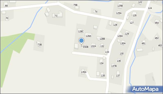 Hermanowa, Hermanowa, 132C, mapa Hermanowa