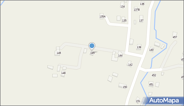Hermanowa, Hermanowa, 145, mapa Hermanowa