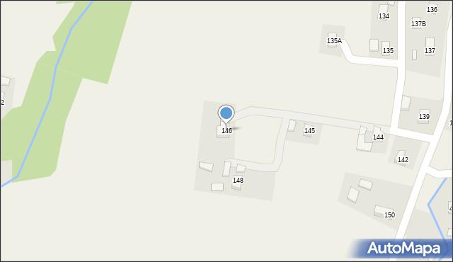 Hermanowa, Hermanowa, 146, mapa Hermanowa