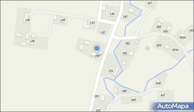 Hermanowa, Hermanowa, 150, mapa Hermanowa