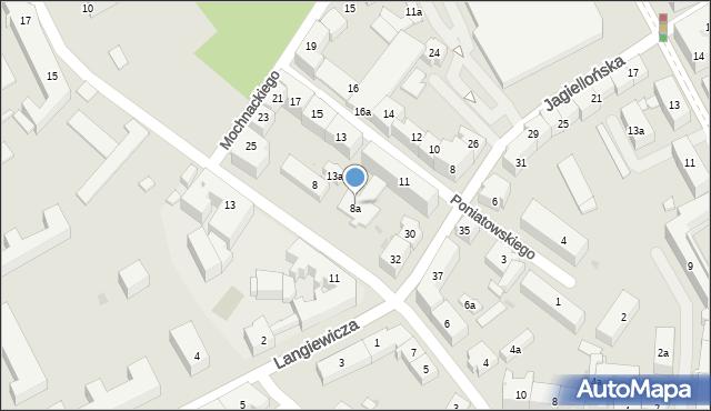 Rzeszów, Hoffmanowej Klementyny, 8a, mapa Rzeszów