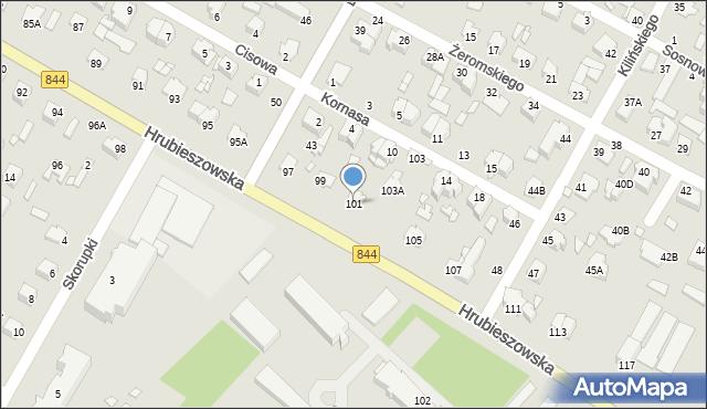 Chełm, Hrubieszowska, 101, mapa Chełma