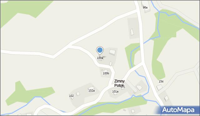 Huta Brzuska, Huta Brzuska, 100a, mapa Huta Brzuska